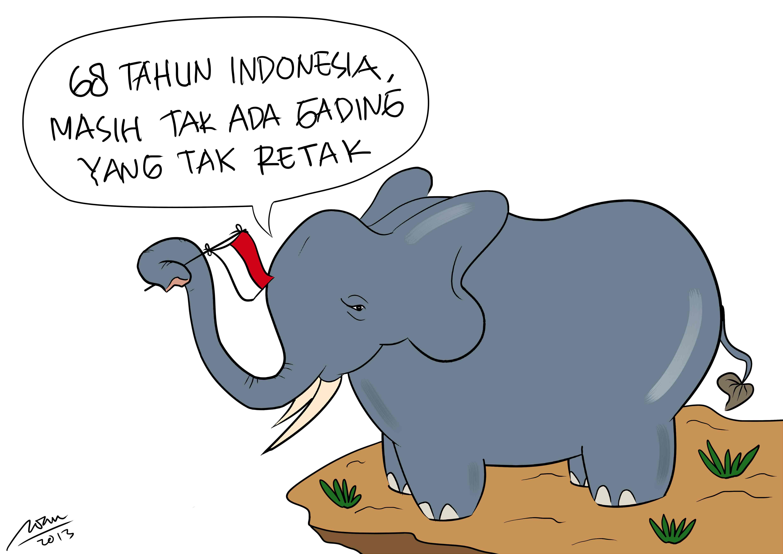 Kartun Untuk Penyadaran Lingkungan Ala Afwan Fathul Barry