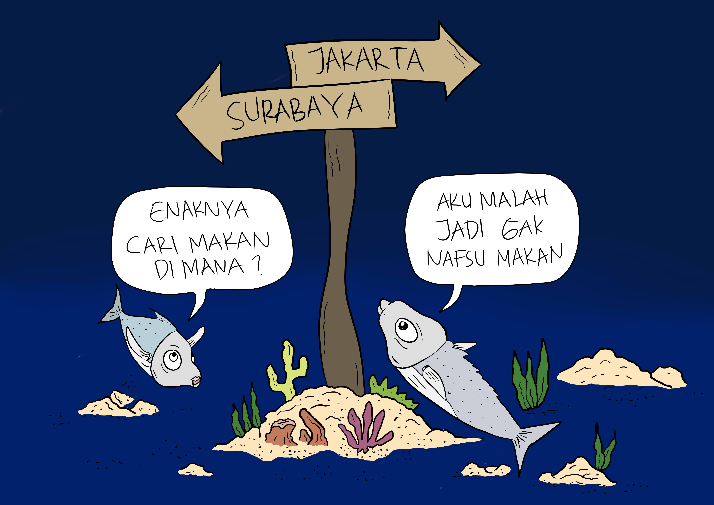 Kartun Untuk Penyadaran Lingkungan Ala Afwan Fathul Barry Mongabay