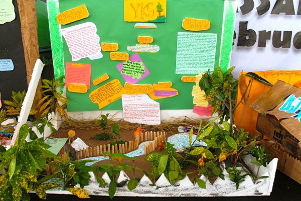 Kala Siswa Smu Sulsel Belajar Lingkungan Lewat Mading 3d