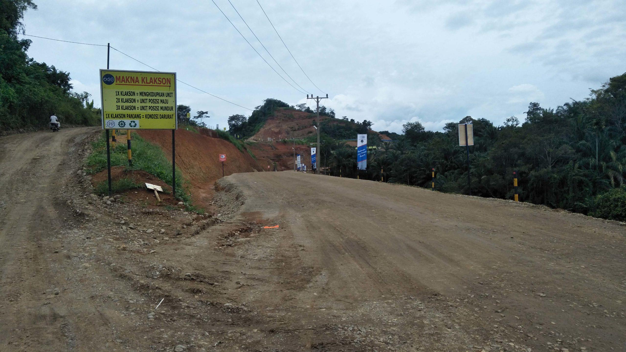 Pembukaan jalan untuk Bendungan Lau Simeme, Deli Serdang. Foto: Adinda Zahra Novianty/ Mongabay Indonesia
